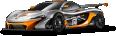 McLaren P1 GTR Race Car 42