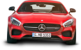 Mercedes AMG GT Red Car Front 40