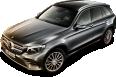 Mercedes Benz GLC Gray Car 44