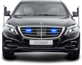 Image - Entourage - Mercedes Benz S 600 Guard President Black Car 47