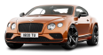 Orange Bentley Continental GT Speed Car 72
