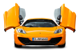 Image - Entourage - Orange McLaren 12C Front View Car 78