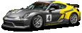 Porsche Cayman GT4 Clubsport Racing Car 82