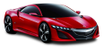 image - entourage - red acura nsx front view car 83
