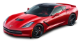 Image - Entourage - Red Chevrolet Corvette Stingray Top View Car 24