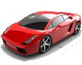 Red Edition Lamborghini Gallardo Luxury Car 222