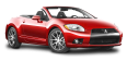 Red Mitsubishi Eclipse Spyder Car 51