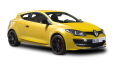 Renault Megane RS Yellow Car 95