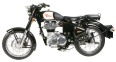 Royal Enfield Classic Black Motorcycle 10