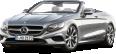 Silver Mercedes Benz S Class Cabriolet Car 106