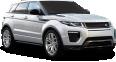 Silver Range Rover Evoque Car 107