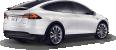 Tesla Model X from side 364