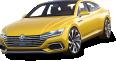 Image - Entourage - Volkswagen Sport Coupe GTE Yellow Car 107