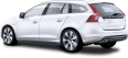 Image - Entourage - Volvo v60 Hybrid Silver Car 59