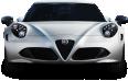 White Alfa Romeo 4C Car 115