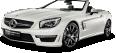 image - entourage - white mercedes amg sl63 car 60