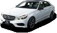image - entourage - white mercedes benz e class car 61