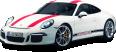image - entourage - white porsche 911 r car 124