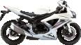 Image - Entourage - White Suzuki GSX R750A 17