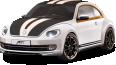 image - entourage - white volkswagen beetle car 126