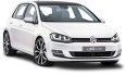 image - entourage - white volkswagen golf car 48