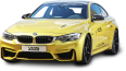 Yellow BMW M4 Car 112