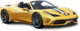 Yellow Ferrari 458 Speciale Car 114