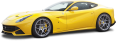 Yellow Ferrari F12berlinetta Car 72