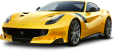 Yellow Ferrari F12tdf Car 127