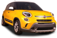 yellow fiat 500l car 95