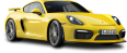 yellow porsche cayman gt4 car 121