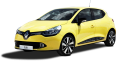 yellow renault clio car 73