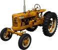 image - entourage - yellow tractor 1460