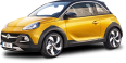 yellow vauxhall adam rocks car 51
