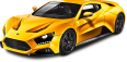 Yellow Zenvo ST1 Car 124