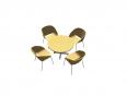 table haute ronde