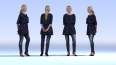 Dosch Design Low-Poly People Sample