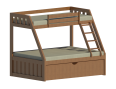 Wood Bunk Bed Twin Over Full