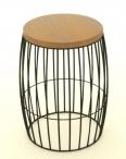 circular bar stool