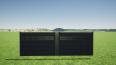 clôture occultante design