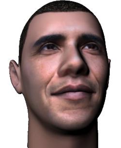 Barak Obama Head