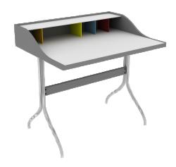 George Nelson Swag Leg Desk 1958