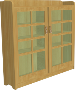 Stickley Library 01