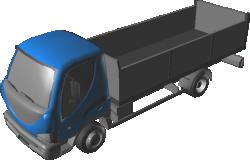 D120 Truck Open Cargo