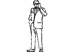 Man Standing 03