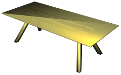 Table 2400x1100