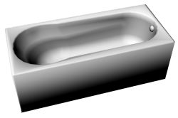 Bathtub 1800x800