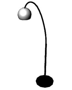 Ball Lamppost