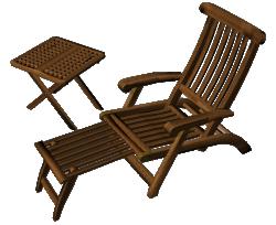 Teak Lounge Chair