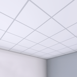 LAY IN Plain tiles Tegular 2 600x600x15mm